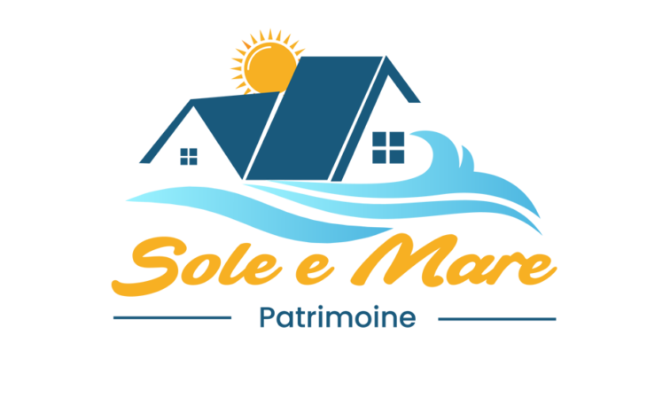 Sole a Mare beach logo design